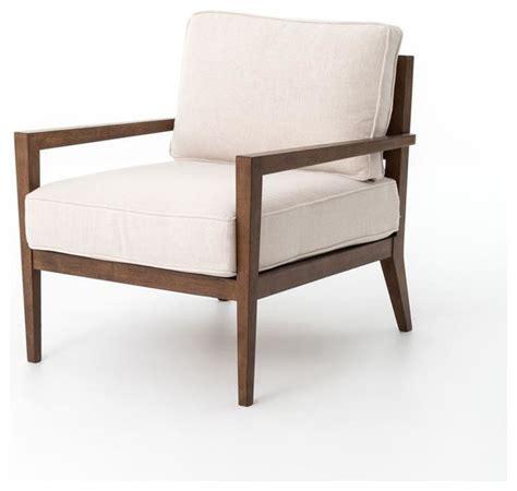 Four Hands Kensington Laurent Wood Frame Accent Chair