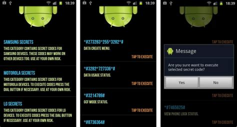 secret android apps 30 android most useful secret codes that you must