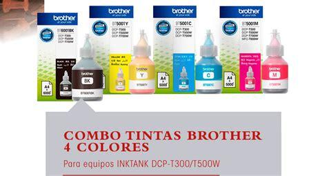 Tinta Bt 6000 Hitam Infus Original juego tinta original dcp t300 t500w bt6001 bt5001 999 g76mu precio d argentina