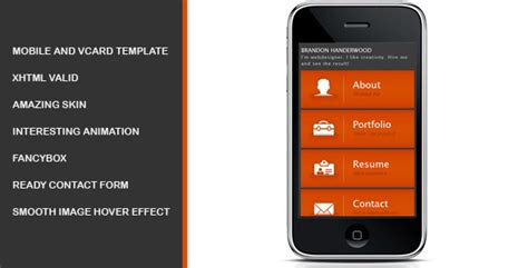 mobile site design template 50 html5 mobile website templates sixthlifesixthlife