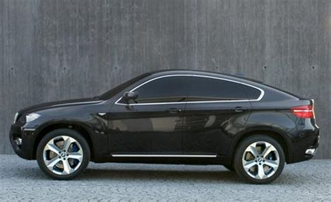bmw x6 concept car car and driver
