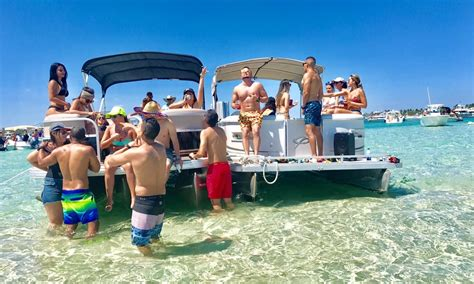 boat rental north miami beach 24 luxury party pontoon boat rental in north miami beach