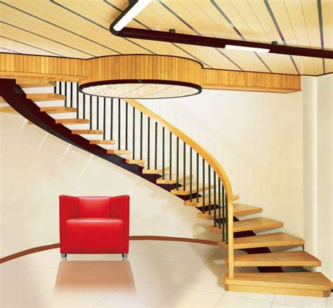 wood stair design unique stairs design modern magazin