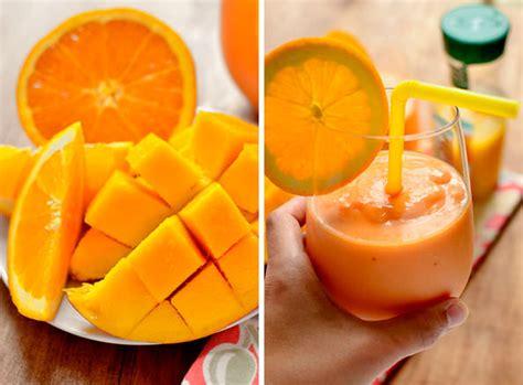 Jine Pineapple Orange Mango tropical pineapple mango orange smoothie iowa eats