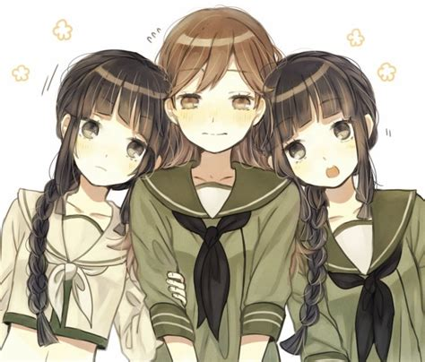 3 Anime Best Friends by What Are Best Friends They Are Your Soulmates Choosen In