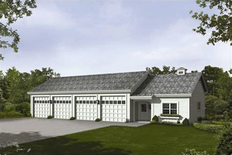 4 stall garage plans 4 bay garage with loft log garages le mans 4 car garage plans