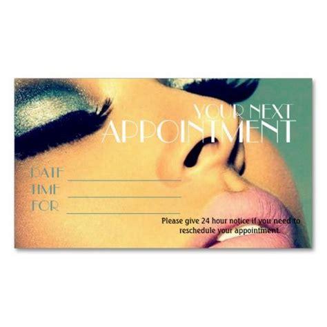 Appointment Card Salon Makeup Artist Cosmetology Business Card Template Make Up Pinterest Cosmetologist Business Card Templates
