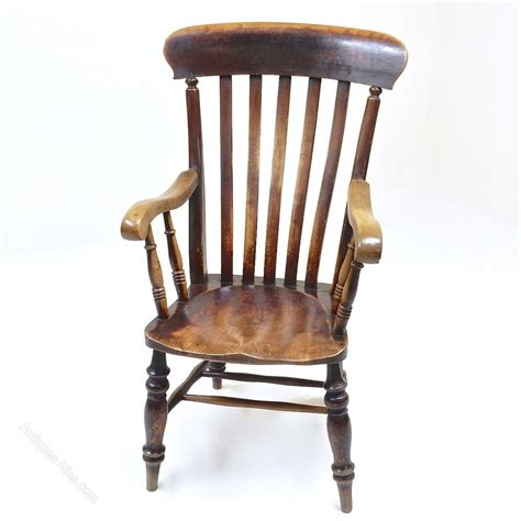slatback armchair antiques atlas
