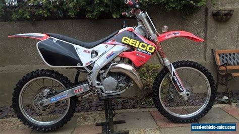 honda motocross bikes for sale 1999 honda cr 125 for sale in the united kingdom