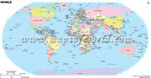 World Map Largest Cities by World Largest Cities Map