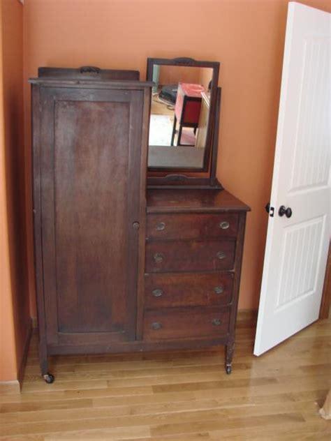 Antique Chifferobe With Mirror Antique Chifferobe Wardrobe Dresser With Mirror Chicago