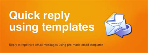 Reply With Templates Replying Repetitive Microsoft Outlook Email Messages Using Email Templates Pre Made Templates