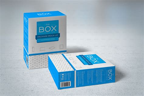 mockup design box package mock up by genetic96 graphicriver