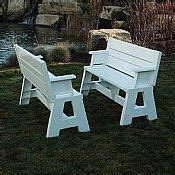convert a bench folding picnic table 1000 images about picnic table bench on pinterest