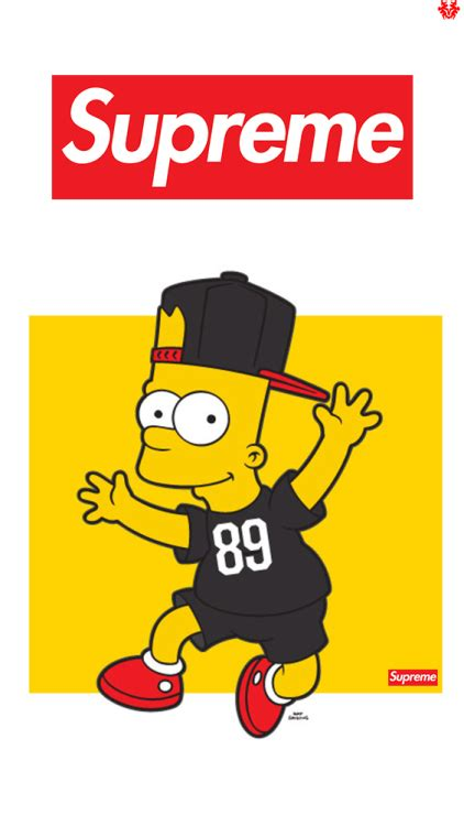 Bart Simpsons X Supreme supreme background images search