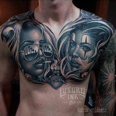 tattoo via vallen charlie medina tattoo pinterest art dessin masque