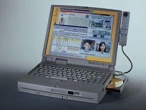 vintage toshiba tecra dvd gb laptop notebook computer complete windows  ebay