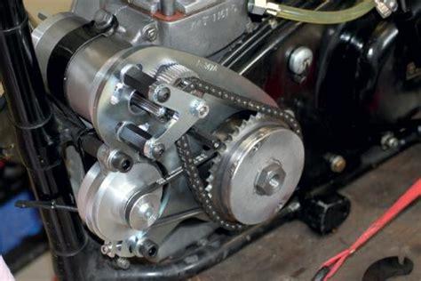 velocette alton electric starter kit with alternator