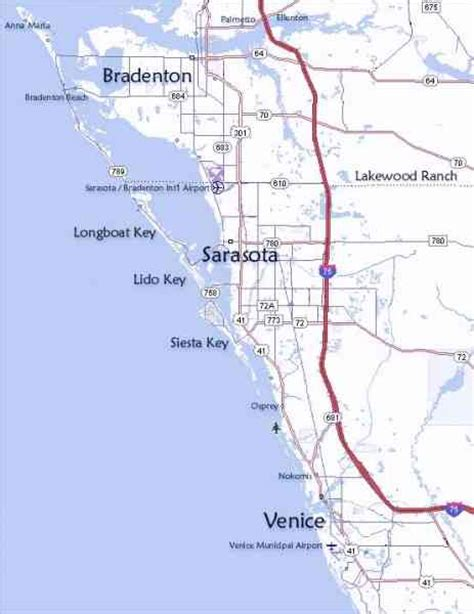 florida west coast map map of the west coast of florida map travel holidaymapq