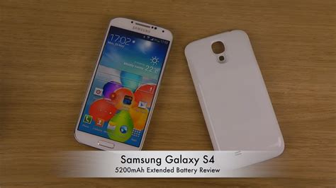Battery Galaxy S4 5200mah Vizz Lasting Baterai For I9500 samsung galaxy s4 5200mah extended battery review