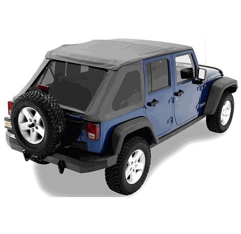 jeep frameless soft top all things jeep jeep wrangler unlimited jku 4 door 2007