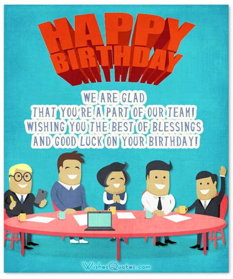 Birthday Quotes For A Colleague 33 Heartfelt Birthday Wishes For Colleagues