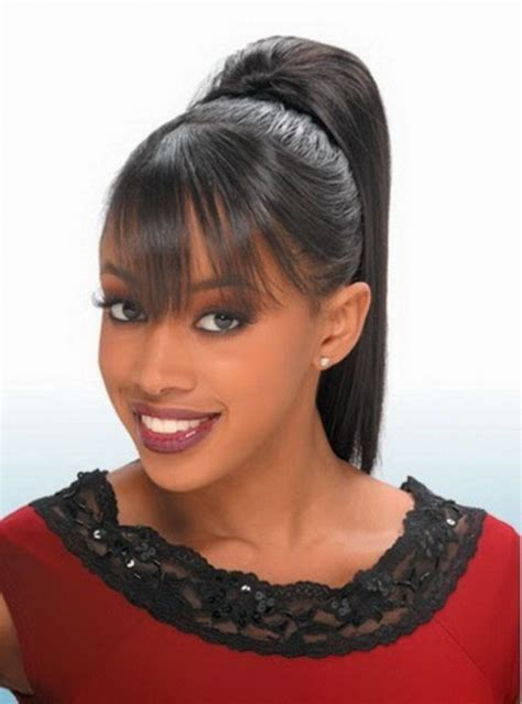 black hairstyles ponytails hump cute weave ponytail hairstyles black weave ponytail