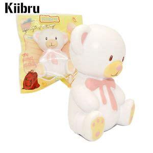 Kiibru Teddy Squishy 10cm kiibru teddy squishy rising scented relieve stress kid ebay