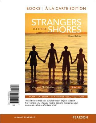 strangers how to date like a books strangers to these shores books a la carte edition book