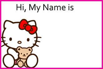 printable hello kitty tags free printable hello kitty grapes name tags for kayla
