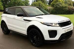 approved used range rover evoque for sale used land