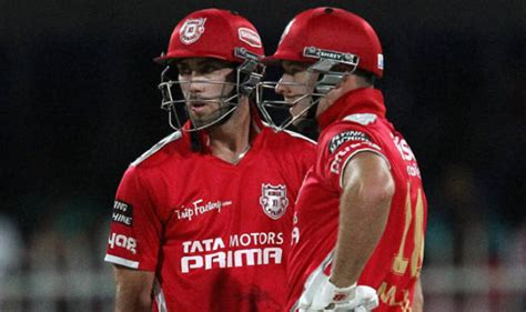ipl lis 2015 full list of players bought by kings xi punjab kxip team