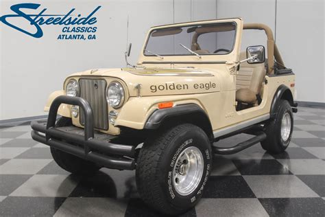 jeep golden eagle for sale 1978 jeep cj7 golden eagle for sale 65095 mcg