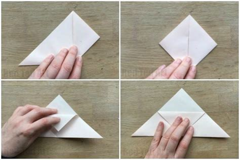 How To Make A Paper Bookmark Origami - how to make an origami bookmark corner ted s
