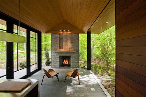 organic house contemporary garden pavilion pool house idesignarch