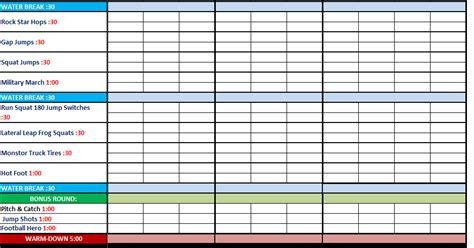 P90x Spreadsheet by P90x Schedule Search Results Calendar 2015