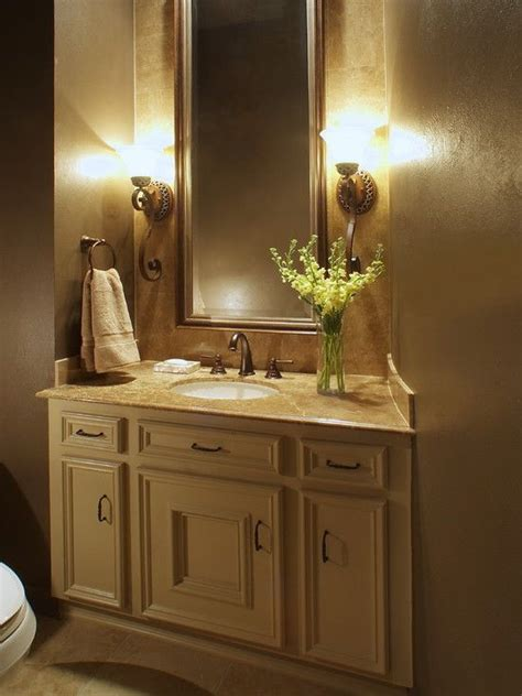 Half Bathroom Vanity Traditional Antiques And Faucets On Pinterest