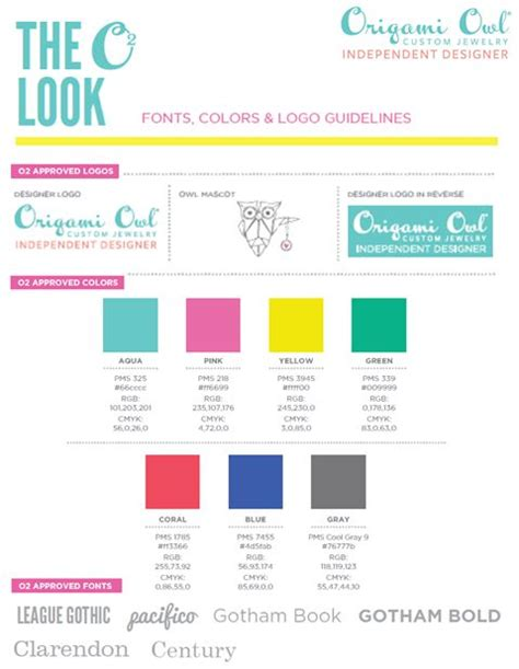 Origami Owl Colors - the colors of origami owl https www