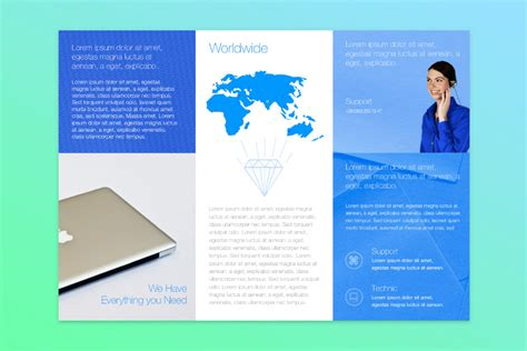 tri fold brochure template publisher free publisher templates for mac