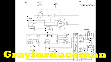 heat pump wiring diagram overview youtube