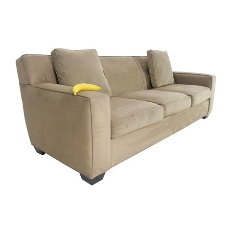 crate barrel sofa cameron sleeper sofa crate and barrel