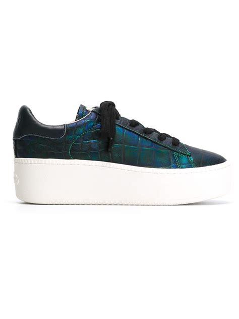 ash platform sneakers ash platform sneakers in blue lyst