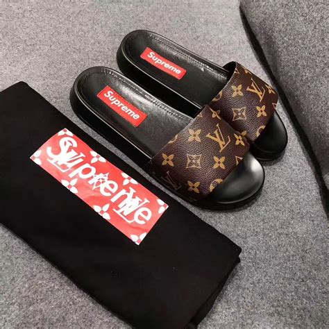 louis vuitton slippers for louis vuitton lv slippers supreme slides slippers