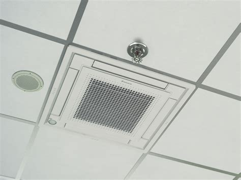 daikin cassette unit daikin vrv slim line ducted architecture and design