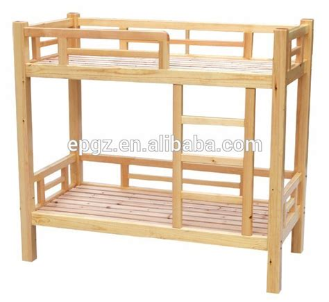 cheap wood bunk beds solid pine wood bed double decker bunk bed for children
