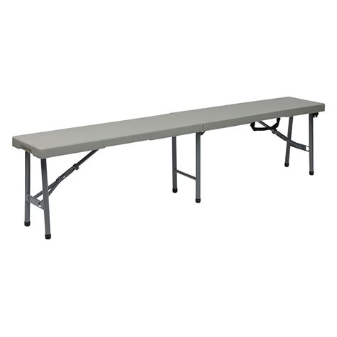 6 foot bench 6 foot fold in half bench pc 15f
