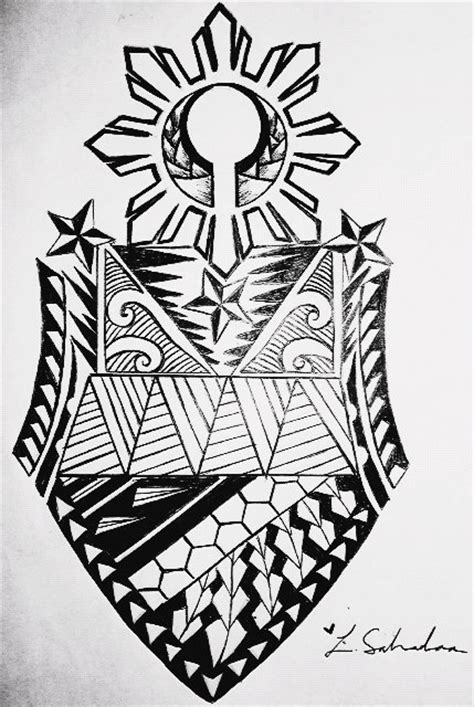 philippine ethnic tattoo designs 16 designs
