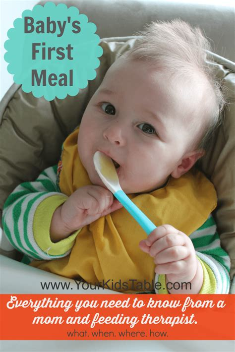when do babies start table food introducing baby food everything you need to your