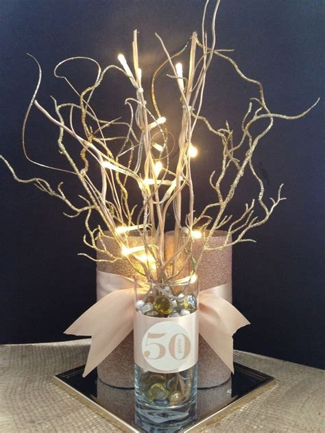 50th anniversary centerpieces best 25 50th anniversary