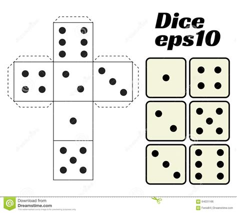 setter define pin printable paper dice template on pinterest